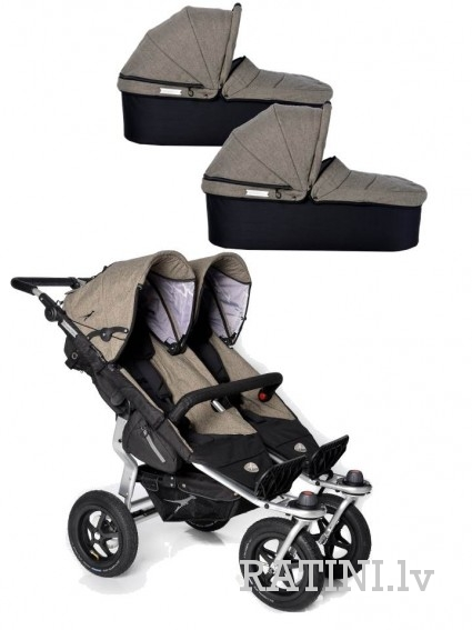 Twin Adventure + Duo X kulbas 2 gb. Premium Mud
