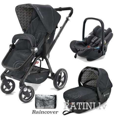 Camino Travel set krāsa Cosmic Black